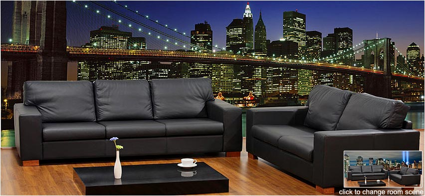 Custom printed wall murals wallpapers andrew prokos for Brooklyn bridge mural wallpaper